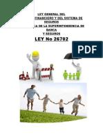Ley General Del Sistema Financiero y Del