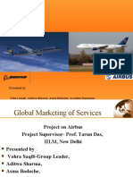 Global Services Project- Airbus - Boeing