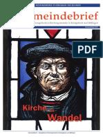 Gemeindebrief 2017 07 Sommer/Herbst - 21. Ausgabe