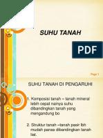 SUHU TANAH