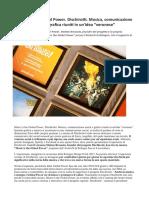 Global Power Dischirotti. Musica, Comunicazione Social e Grafica