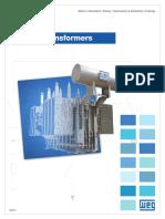 WEG Power Transformers Usaptx13 Brochure English