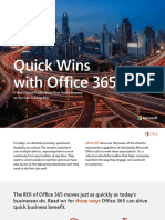Quick Wins With Office365