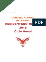 GUÍA DEL ALUMNO - RESIDENTADO MÉDICO 2018 ANUAL.pdf