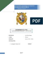 Informe 8 Calor Disipado Labo f2