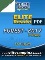 Resolução da Fuvest -ELiTE - 1 Fase