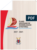 PDEP Plano Diocesano de Evangelização e Pastoral