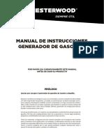 Manual Generador Gasolina
