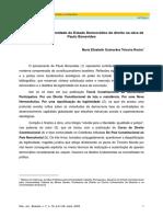 Efetivação Da Legitimidade Do Estado Democrático de Direito Na Obra de Paulo Bonavides