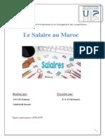 Exposé Le Salaire Au Maroc_DAOUI & LAMALEM _Master SEMC