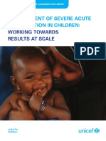 UNICEF Program Guidance on Manangement of SAM 2015