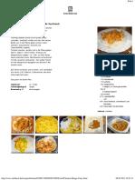 Chefkoch.de Rezept Chicken - Mango - Curry