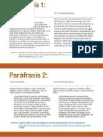 Paráfrasis 1