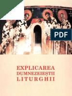 Explicarea Dumnezeiestii Liturghi