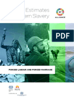Global Estimates of Modern Slavery-Forced Labour and Forced Marriage