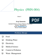 Applied Physics Spring Semester Class2