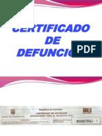 defuncion
