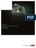1LFI2026 Special Power Transformers for Railway - Brochure En