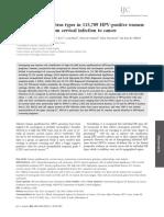 International Journal of Cancer Volume 131 Issue 10 2012 [Doi 10.1002_ijc.27485] Peng Guan; Rebecca Howell-Jones; Ni Li; Laia Bruni; Silvia de Sa -- Human Papillomavirus Types in 115,789 HPV-positiv
