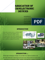 Grp1_Seminar_Fabrication of Microelectronic Devices