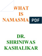 What is Namasmaran Dr. Shriniwas Kashalikar