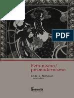 Linda J. Nicholson (comp.) - Feminismo-posmodernismo(1992).pdf