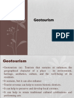 Chapter 4 Geotourism