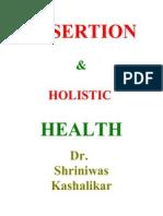 Assertion for Holistic Health Dr Shriniwas Kashalikar