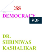 Stress and Democracy Dr. Shriniwas Kashalikar