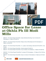 Office Space Okhla Phase 3 for Rent
