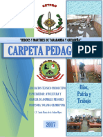 Carpeta Pedagógica Avicultura 2017