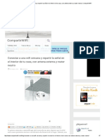 Conectar a Una Wifi Cercana y Repartir La Señal en El Interior de Tu Casa, Con Antena Externa y Router Neutro _ CompartirWIFI