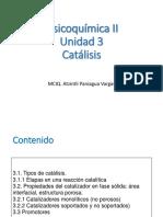 Unidad 3 Catalisis