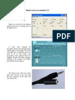 Cable Shutter Tester Manual v.1.1