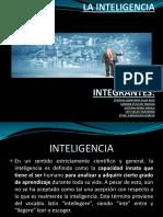 La Inteligencia Diapositivas
