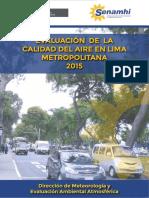 Evaluacion Calidad de Aire Lima Metropolitana 2015