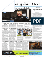 The Daily Tar Heel for Nov. 20, 2017