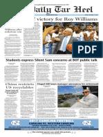 The Daily Tar Heel for Nov. 17, 2017