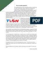 Tlön y los medios argentinos