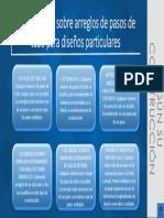 Restricciones Sobre Arreglos de Pasos de Tubo Para Diseños Particulares
