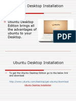 Ubuntu Desktop Installation