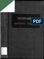 diicionario HISPANOTAGALO1923