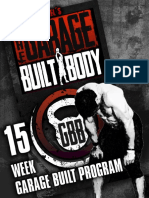 2. the Garage Built Body Main Program Guide