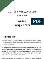 (20170913193046)Aula 6. Eólica. Fontes Alternativas de Energia