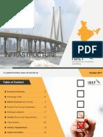 Infrastructure October report _IBEF