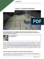 Atlantico.fr - Disparition Dun Faux Ennemi Le Cholesterol Alimentaire - 2015-08-08