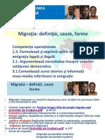 Migratia-Definitii, Cauze, Tipuri, Exercitii [Repaired]