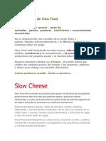 Una Campaña de Slow Food