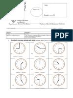 evaluación  hora 2° básico.docx