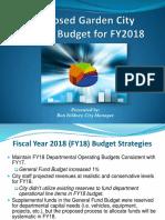 FY18 Proposed Budget Presentation 11-20-17_Final